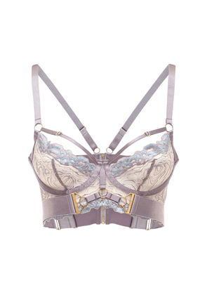 Kea Embroidered Bodice Bra