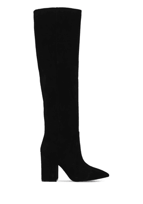85mm Willa Suede Tall Boots