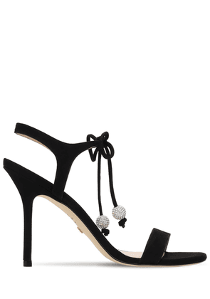 100mm Oracle Suede Sandals