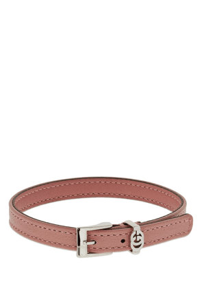 Interlocking G Leather Bracelet