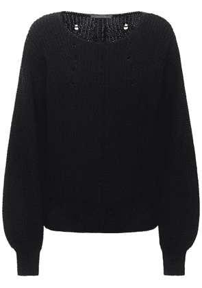 Cotton Knit Sweater