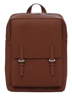 Military Leather Backpack
