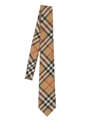70mm Manston Micro Check Print Silk Tie
