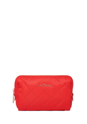 Quilted Nylon Make-up Bag