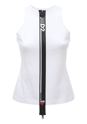 D2 Line Cotton Jersey Tank Top