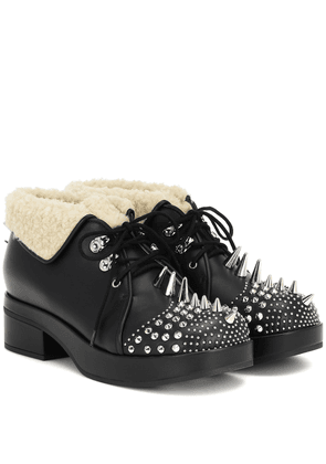 Victor studded leather ankle boots