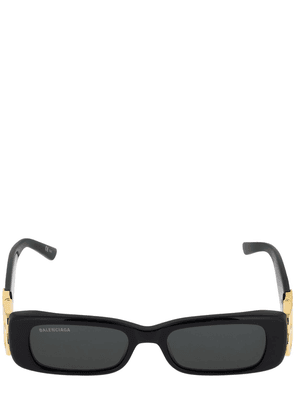 0096s Dynasty Rectangle Acetate Sunglass