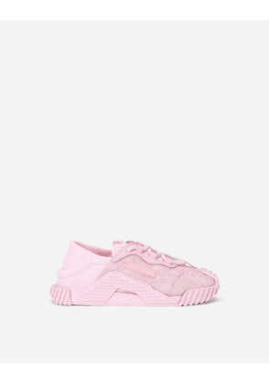 Dolce & Gabbana Shoes (24-38) - CORDONETTO LACE NS1 SNEAKERS PINK female 29