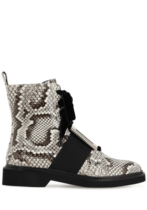 30mm Lvr Exclusive Ranger Python Boots