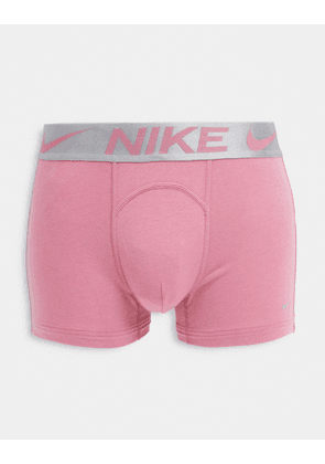 Nike Luxe cotton modal trunks in pink
