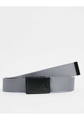 adidas Golf reversible webbing belt in grey
