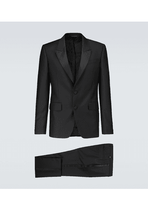 Single-breasted tuxedo suit