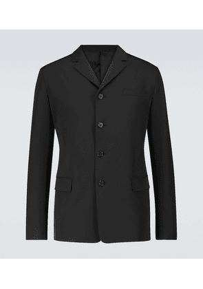 Single-breasted technical blazer