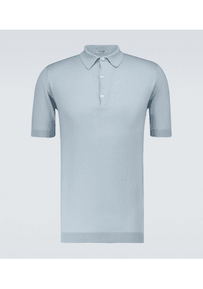 Adrian Sea Island cotton polo shirt