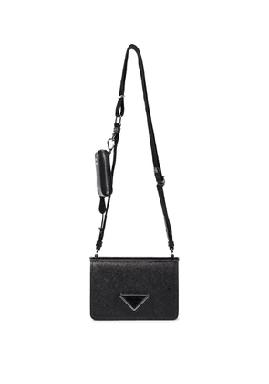 Saffiano Mini leather shoulder bag