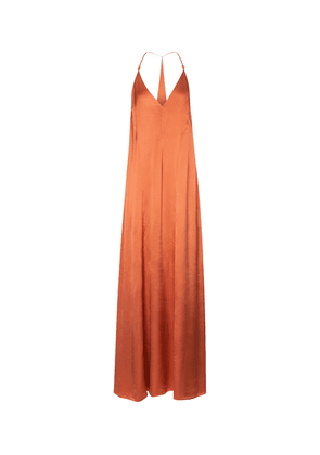 Veranda satin slip dress