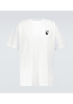 Marker oversized cotton T-shirt