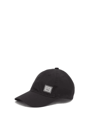 Acne Studios - Reflective Face-print Canvas Cap - Mens - Black