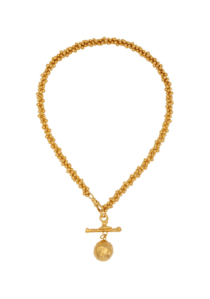 L'Aura Chapter I 24kt gold-plated choker necklace