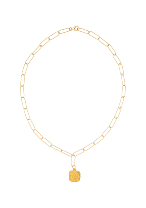 Baby Infernal Storm 24kt gold-plated necklace