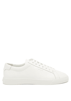 Saint Laurent - Andy Leather Trainers - Womens - White