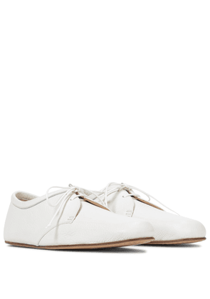 Luca leather ballet flats