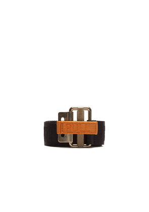 HERON PRESTON Tape Classic buckle belt Men Size OS EU