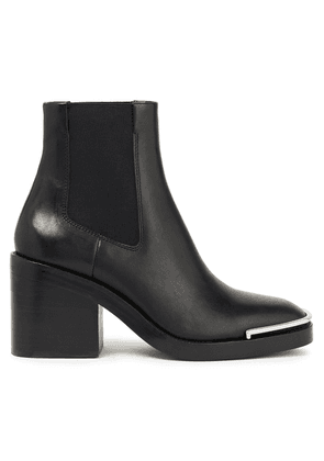 Alexander Wang Hailey Leather Ankle Boots Woman Black Size 39