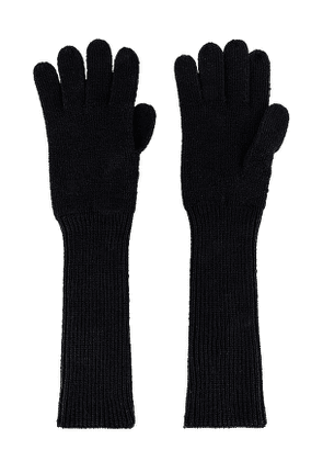 Reebok x Victoria Beckham RBK VB Gloves in Black. Size S.