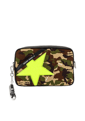 Golden Goose Star Bag in Army.