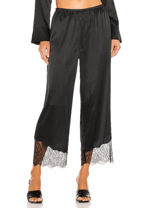 CAMI NYC The Catrine Silk Pant in Black. Size S, XS.