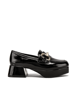 Jeffrey Campbell Student Loafer in Black. Size 7.5.