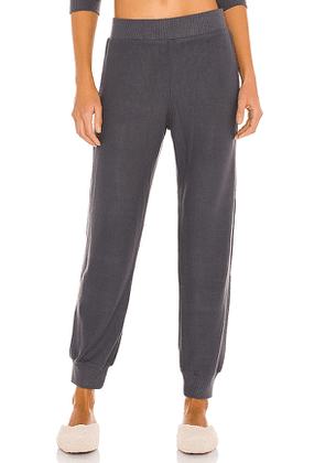 eberjey Cozy Time Pant in Grey. Size S.