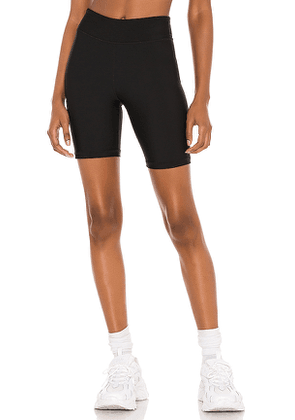 THE UPSIDE Matte Spin Short in Black. Size M, S, XS.