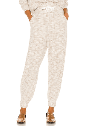 Divine Heritage x REVOLVE High Waisted Sweatpants in Beige. Size M, S, XS.