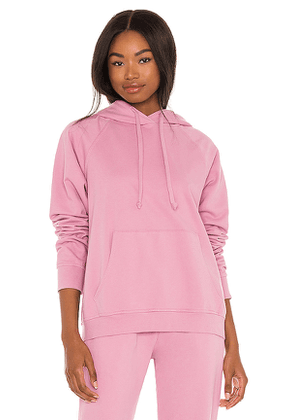 YEAR OF OURS Sport Sweatshirt in Pink. Size M, S, XS.