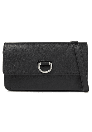 Burberry Textured-leather Wallet Woman Black Size --