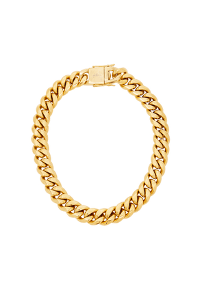 FALLON Ruth Curb Gold-plated Chain Necklace
