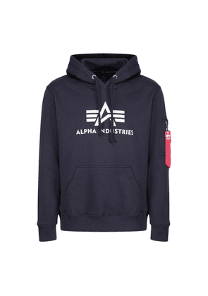 Alpha Industries 3d Logo Hoody Rep Blue