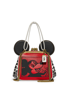 Coach X Disney X Keith Haring Leather Top Handle Bag