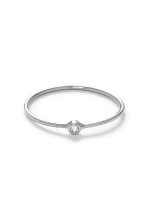 The Alkemistry The Alkemistry 18ct White Gold And Diamond Flow Ring