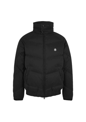 Billionaire Boys Club Black Quilted Brushed-shell Jacket
