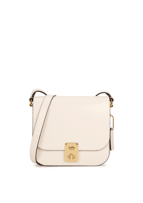 Coach Hutton Ivory Leather Cross-body Bag