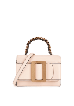 Boyy Fred 19 Blush Leather Top Handle Bag