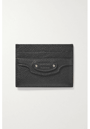 Balenciaga - Neo Classic City Textured-leather Cardholder - Black