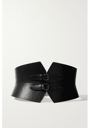 Alaïa - Leather Waist Belt - Black