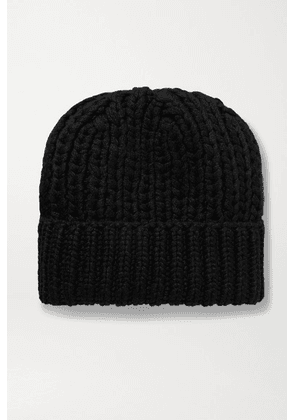 The Row - Ayfer Ribbed Cashmere Beanie - Black