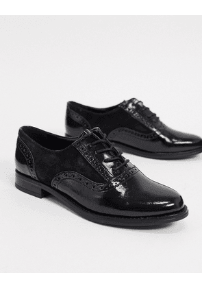 Aldo lace up brogues in black