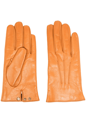 Gucci lambskin leather gloves - Brown