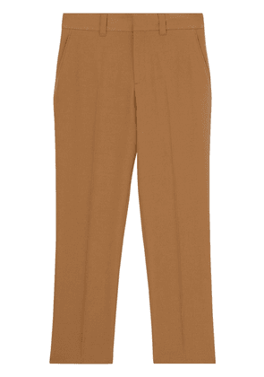Burberry grain de poudre tailored trousers - Brown
